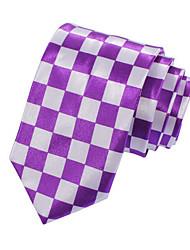 Men's Narrow Casual Check Necktie(Width:5CM)