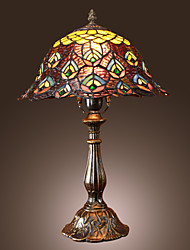Tiffany-style Floral Bronze Finish Table Lamp(0923-TF1)