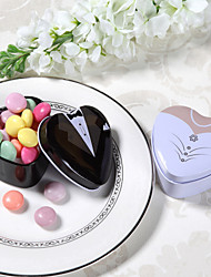 6 Piece/Set Favor Holder - Heart-shaped Tins Favor Tins and Pails Non-personalised