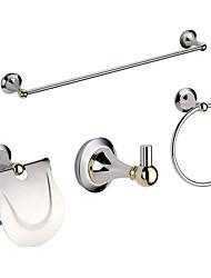 Conjuntos de baño accesorios incluyen Holder Toilet Roll, gancho del traje, Secador de toallas y toalla anillo