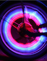 Schütteln Fahrrad-Rad Sicherheit Lichter (2-teilig)