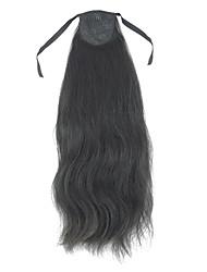 100% Human Hair Droite Ponytail avec 2 couleurs au choix