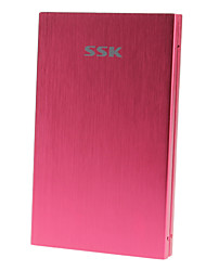 "SSK 2,5 ""USB 2.0 SATA External HDD Enclosure Hard Drive"