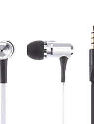 AWEI Crystal Sound Basse écouteurs stéréo avec micro pour iPhone/iPad/iPod/MP3/HTC/Blackberry