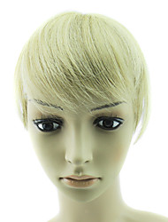 100% Indian Straight Machine-made Lace Bang