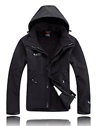 Ski Wear Ski/Snowboard Jackets Men's Winter Wear 100% Polyester Winter Clothing Waterproof / Breathable / Thermal / Warm / Windproof