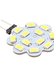 1.5w g4 led bi-pin luces 12 smd 5630 150-200 lm blanco natural dc 12 v