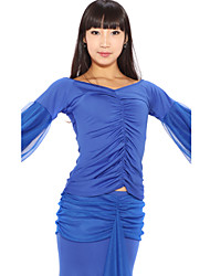 Dancewear Viscose and Tulle Modern Dance Tops For Ladies More Colors