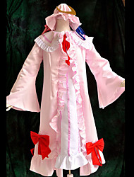 Inspired by TouHou Project Patchouli Knowledge Video Game Cosplay Costumes Cosplay Suits Patchwork White Top