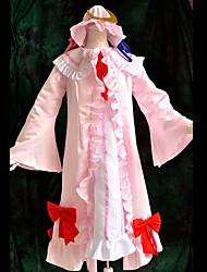 Inspiré par Touhou Project Patchouli Knowledge Vidéo Jeu Costumes Cosplay Costumes Cosplay Mosaïque Blanc Top
