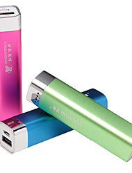 YH-8020 2600MAH Lipstick Type Ms. special Lightweight High-end Mobile Power Supply