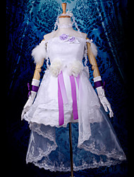 Vocaloid Live Party 2011 39's LIVE in SAPPORO Hatsune Miku White Dress Cosplay Costume