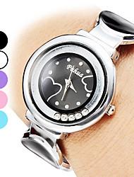 Damen Alloy Analog Quarz Armband Watch (verschiedene Farben)