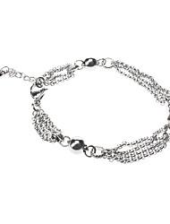 Graça elegante deusa aço inoxidável Bracelect