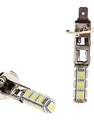 H1 2.5W 13x5050 SMD White LED Bulb for Car Headlight Fog Light (12V, 2-Pack)