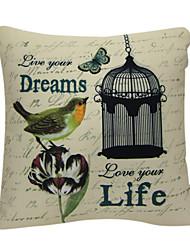 liberdade sonho de impressão fronha decorativo