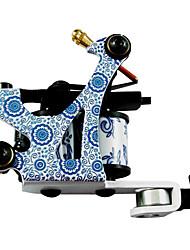 Azul e Branco Porcelana Tattoo Liner metralhadora e Shader