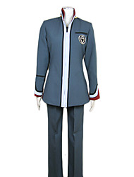 Inspired by Hiiro no Kakera Cosplay Video Game Cosplay Costumes Cosplay Suits Patchwork Gray Top