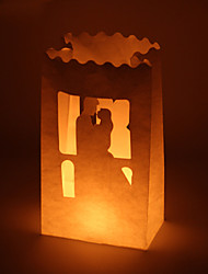 Wedding Décor Bride & Groom Cut-out Paper Luminary