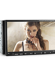 2 Din 7-inch TFT Screen In-Dash Car DVD Player With Bluetooth,Navigation-Read GPS,iPod-Input,RDS,TV