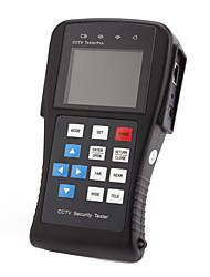 """Testeur CCTV, 2,8 """"écran LCD, résolution 960x240, test de niveau vidéo, les tests de câble, 12V DC Sortie"""