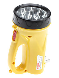 Plastic Yellow LED Flashlight