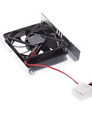 "3.5"" IDE SATA Hard Drive 4500RPM Cooler Cooling Fan"
