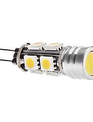 4W G4 Bombillas LED de Mazorca T 9 SMD 5050 270 lm Blanco Cálido DC 12 V
