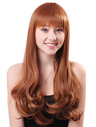 Capless Hot Sale Long Blonde Curly High Quality Synthetic Japanese Kanekalon Wigs