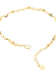 Women's Chain Bracelet 18K Gold Plated