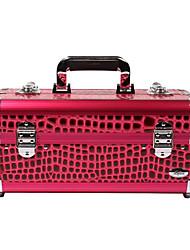 1pcs color seleccionable cuero Organizador Caja cosmética (BB-091, 2.100 g)