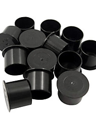 1000Pcs Cylindrical Black Small Tattoo Ink Cup