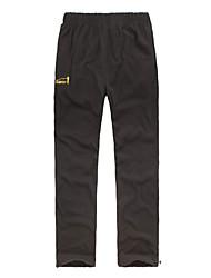 EAMKEVC Men's Fleece Pants Keep Warm Wearable Breathability Black, Gray