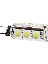 Ampoule Maïs Blanc Naturel G4 2 W 13 SMD 5050 180 LM 6000K K DC 12 V