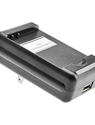 US Battery Charger with USB Output for MOT BP6X A855 (4.2v/5.2v)