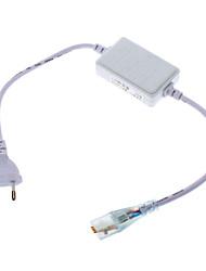 Connecteur de l'UE avec 8-Controller Mode pour High Voltage RGB LED Lights bande (220)