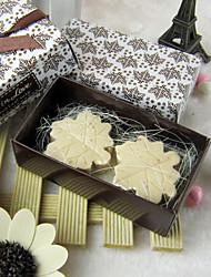 Maple Leaf a forma di bomboniera Sapone (Set di 2)