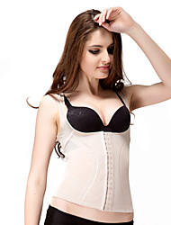Patterned Chinlon Shaping Tank Top Sexy Lingerie Shaper