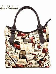 София Roland крышкой СЕРИС мультяшном стиле сумка (35,5 * 10 * 25,5 см)