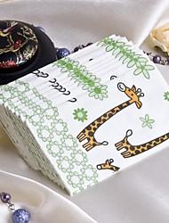 Cute Giraffe Guest Towels (Set of 12 Packs)