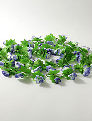 Wedding Décor 2m (6.5ft)Blue Rose Vine Decoration