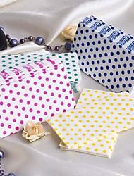 Nice Polka Dot Guest Towels - Set of 12 Packs (More Colors)