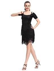 Ballsaal dancewear Viskose latin dance dress für Damen