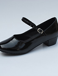 Patent Leather Ankle Strap Modern / Ballroom Dance Shoes For Kids(More Colors)