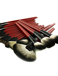22 Makeup Brushes Set Nylon / Others / Pony / Goat Hair / Synthetic Hair Face / Eye / Lip