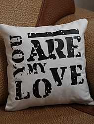 "Gifts Bridesmaid Gift ""You Are My Love"" Pillow Case (Pillow not included)"