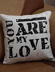 """presentes presente da dama de honra """"você é meu amor"""" fronha (travesseiro não incluído)"""