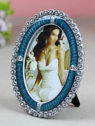 """6"""" Classic Wedding Crystal Picture Frame K02"""