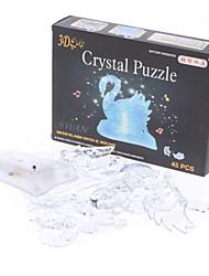 Swan Puzzle 3D Crystal (45pcs, Modèle: 9004A, couleur aléatoire)