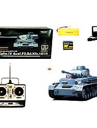 Escala 1:16 RC depósito de los juguetes de radio control remoto Tanques alemanes Modelo